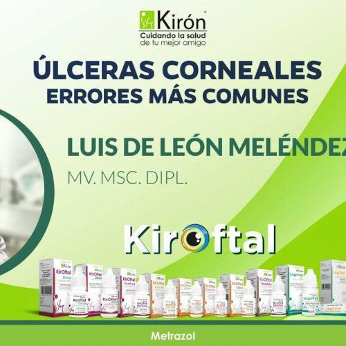 Úlceras corneales, errores más comunes