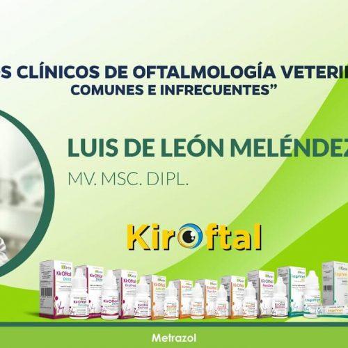 Casos clínicos de Oftalmología Veterinaria. Comunes e infrecuentes